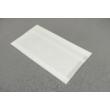 Papírtasak - 160x2x20x300mm, fehér kraft 35g/m2 100db