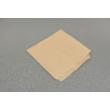 Hamburgeres papírtasak -170x170mm, barna kraft 35g/m2 100db
