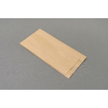 Papírtasak, papírzacskó, pékáru tasak, sütőipari zacskó 120x2x25x240mm