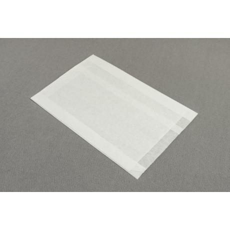 Papírtasak  - 160x2x20x250mm, fehér kraft 35g/m2 2500db