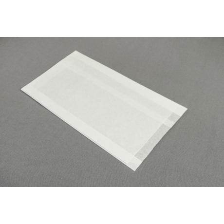 Papírtasak  - 160x2x20x300mm, fehér kraft 35g/m2 1800db
