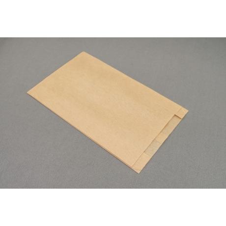 Papírtasak  - 180x2x35x300mm, barna kraft 35g/m2 1500db