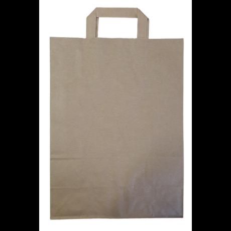 Szalagfüles papírtáska 26x35x12cm